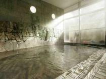 【男性内風呂】昼湯持ちが良く、湯上がり後もポカポカ、スベスベ◎