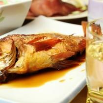 夕食_煮魚