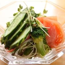 料理_朝食_サラダ