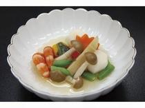 料理長こだわり伊豆野菜の煮物