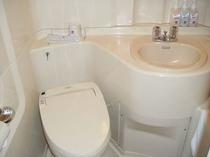 シングルのバスルーム
