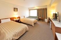 客室 ツインルーム(一例) 18㎡〜23㎡ ベッド幅100cm