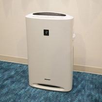 備品/加湿空気清浄機もご用意しております。