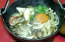 季節のきのこ鍋