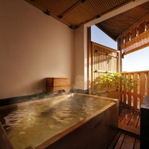 ◆禁煙 客室露天風呂(一例)
