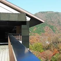 玄関と山々(500×500)