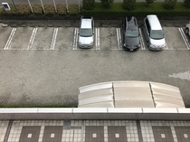 駐車場(ホテル正面)
