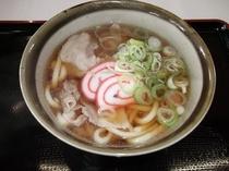 立山米粉肉うどん:立山吉峰温泉オリジナル