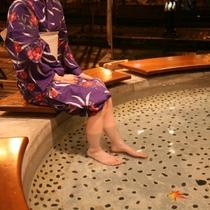 ◆【足湯めぐり】疲れをとり体がぽかぽかと温まる