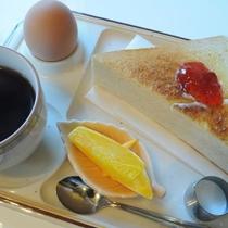 ◆2階喫茶店のモーニングセット(一例)