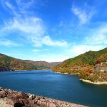 ◆【東仙峡金山湖】東海の水瓶