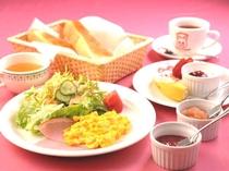 ペンション朝食一例