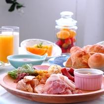 ☆朝食バイキング:洋食①