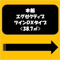 本館・エグゼクティブツインDXタイプ<38.7㎡>