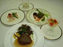 ふらの和牛ステーキ洋食フルコース