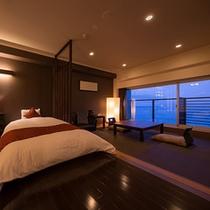 【エレガント】全4室だけの贅沢。眺望風呂と寛ぎの特別室(38㎡)