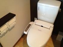 全室ウォシュレット付トイレ
