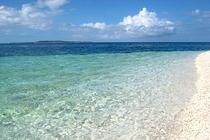 島の遊びはやっぱり海、