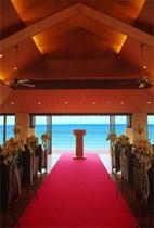 挙式や披露宴、各種イベントなどにご対応できる レセプションホール