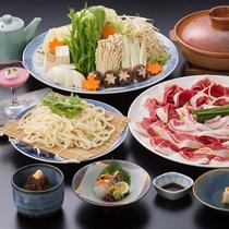 【ぼたん鍋】特製味噌を使用したぼたん鍋は、健康志向のアナタにオススメ☆