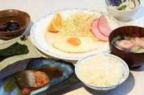 朝食例 和食