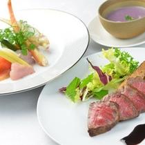□前菜&肉料理
