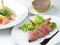■前菜と肉料理