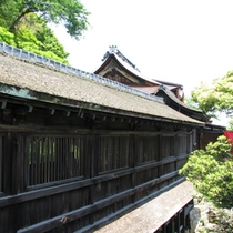 都久夫須麻神社の【舟廊下】