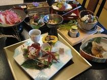 【たまゆら】秋の会席料理です。季節の本格和食をぜひご賞味くださいませ。
