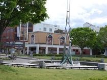 【諏訪公園】歴史ある諏訪神社や、一番街もすぐそこです。