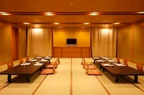 【宝珠】和式宴会場です。会社の忘新年会にどうぞ。