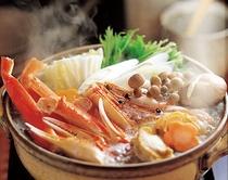 海鮮鍋プラン(カニ入り)