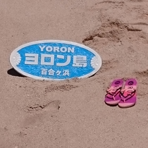 大金久海岸の百合ケ浜