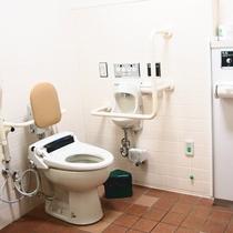 *【バリアフリーのトイレ】車椅子のお客様も安心です
