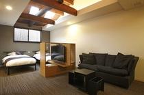 【別邸】2階ベッドルーム