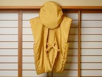 米寿(88歳)・卒寿(90歳)のお祝いのために『黄色のちゃんちゃんこ』もご用意致しております!