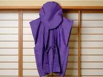 古希(70歳)・喜寿(77歳)・傘寿(80歳)のお祝いには『紫のちゃんちゃんこ』をどうぞ!