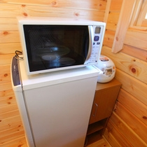 冷蔵庫、炊飯器、電子レンジ