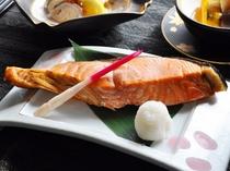 【鮭の塩焼き】