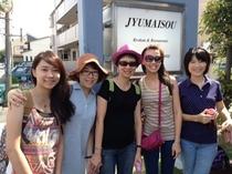 台湾からも女子旅行!