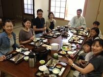 朝食は静岡産コシヒカリです