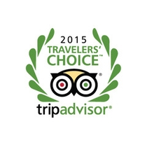 Tripadvisorトラベラーズチョイス2015受賞