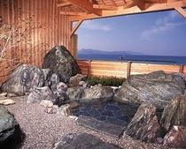 天然温泉の露天風呂(別館)