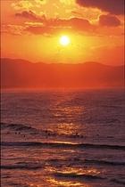 夕日ヶ浦の夕日