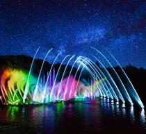 フルーツパーク噴水ショー