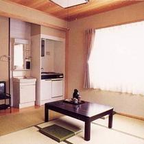 【客室】和室(6畳〜12畳)全室地デジ対応済