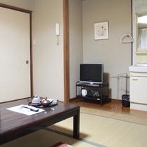 【客室】和室(6畳〜12畳)全室地デジ&Wi-Fi対応済