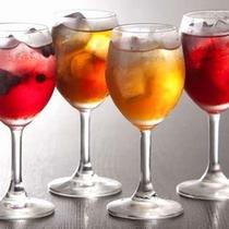 ◆プラン特典①◆4種の手作り果実酒ブルーベリー酒いくり酒またたび酒梅酒 など