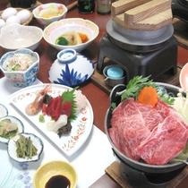 【足柄牛すき焼き】地元名産足柄牛のすき焼きをご賞味ください!