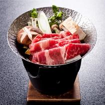 【会席ご夕食一例】陶板焼き